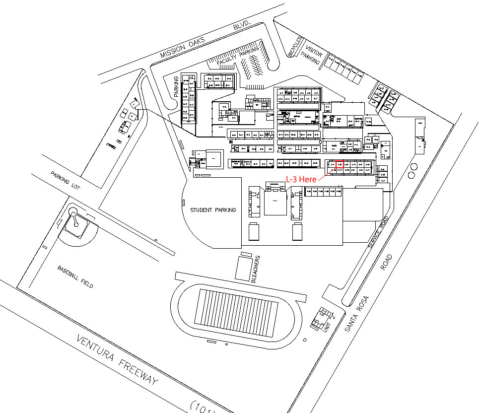 Campus Map – Camarillo | SCWO ociation on